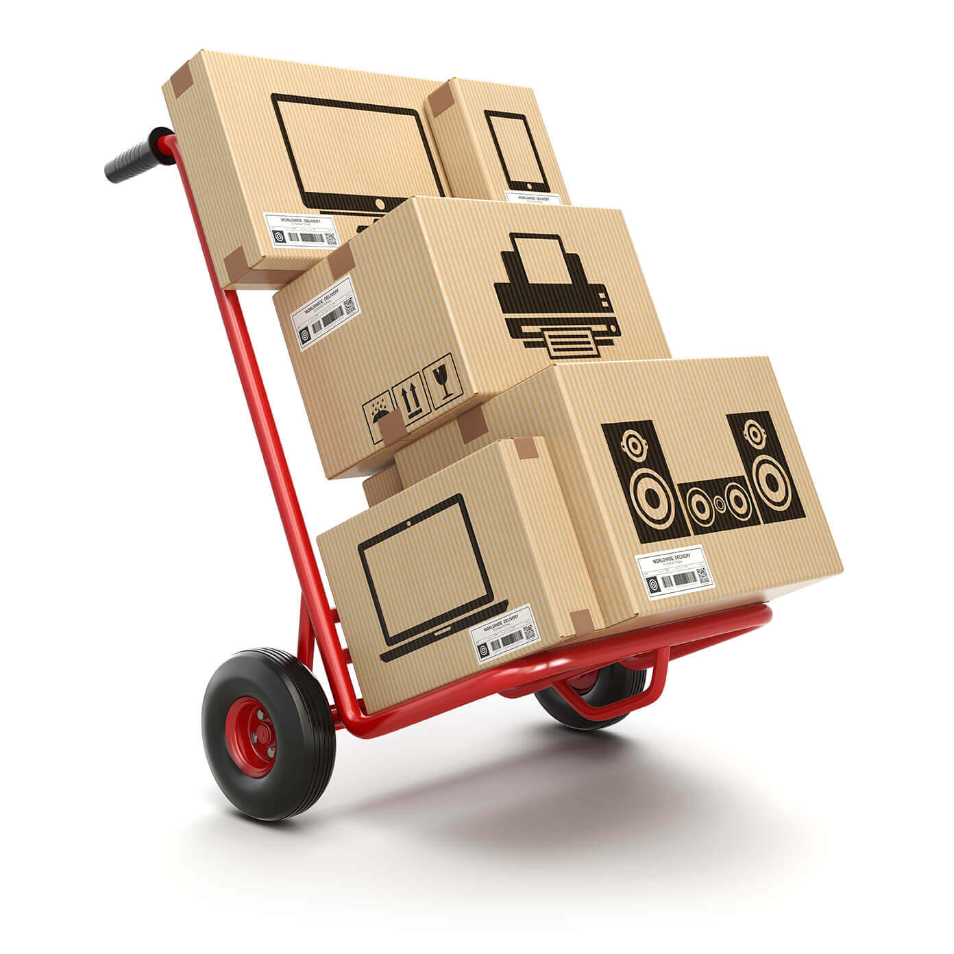 Apartment Moving Services dolly