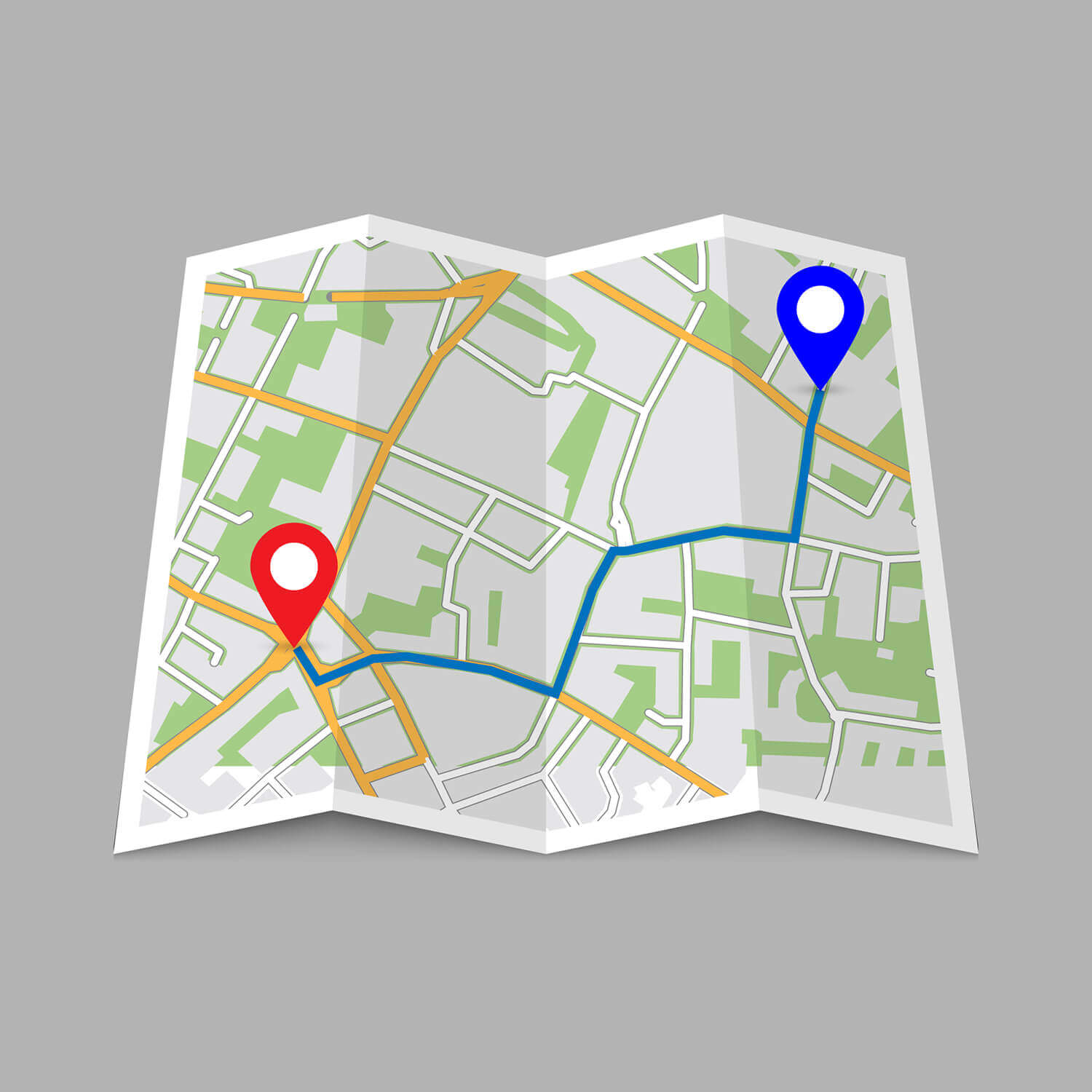 Local Moving Services in DFW Map